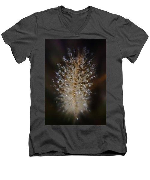 Spiked Droplets  Men's V-Neck T-Shirt