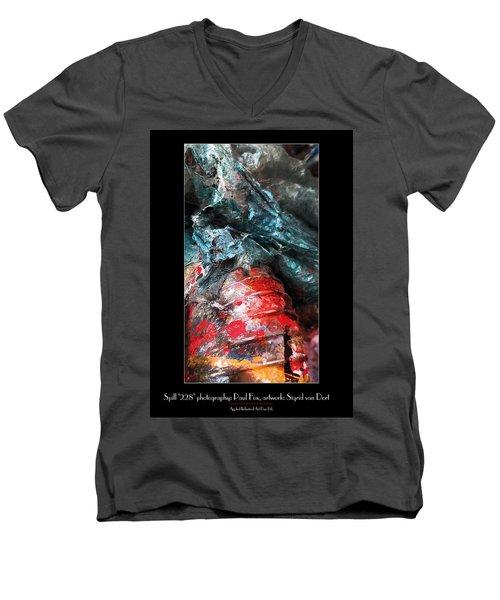 Spill 228 Men's V-Neck T-Shirt