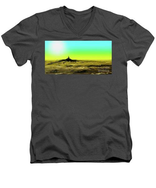 Spilling Men's V-Neck T-Shirt