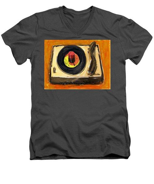 Spin It Men's V-Neck T-Shirt