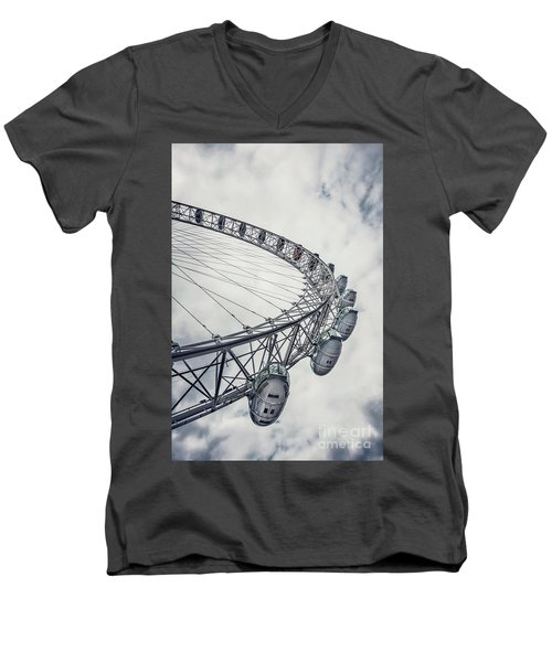 Spin Me Around Men's V-Neck T-Shirt