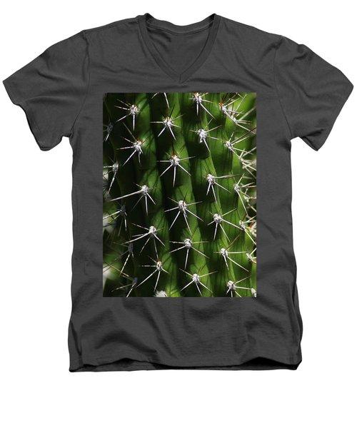 Spine Field Men's V-Neck T-Shirt
