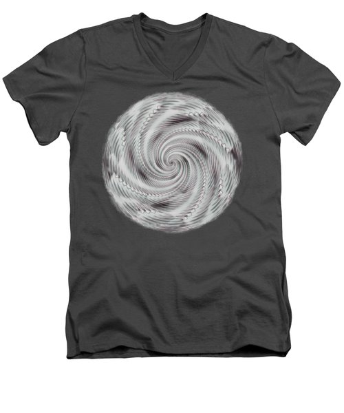 Spiraling Men's V-Neck T-Shirt