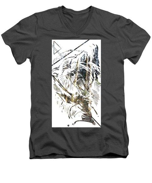 Spirit Animal . Bear Men's V-Neck T-Shirt