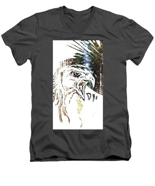 Spirit Animal . Hawk Men's V-Neck T-Shirt