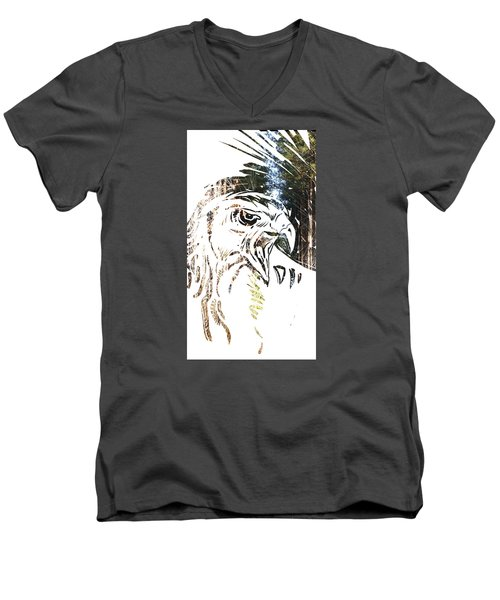 Spirit Animal . Hawk Men's V-Neck T-Shirt