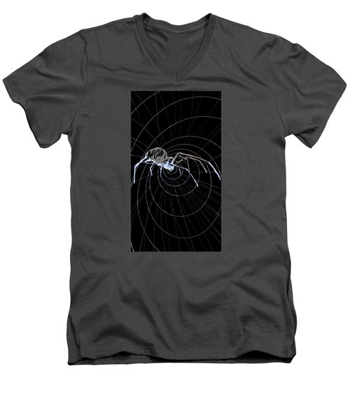 Spirit Animal . Spider Men's V-Neck T-Shirt