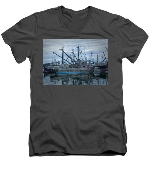 Men's V-Neck T-Shirt featuring the photograph Spirit At Rest by Randy Hall
