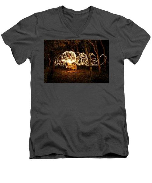 Spirit Dance Men's V-Neck T-Shirt