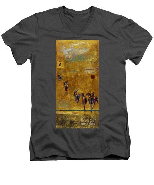 Spirit Horses Men's V-Neck T-Shirt