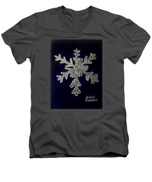 Snow Day Men's V-Neck T-Shirt by Joshua Maddison