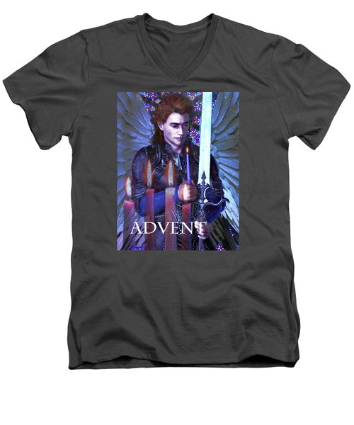 Spirit Of Advent Men's V-Neck T-Shirt
