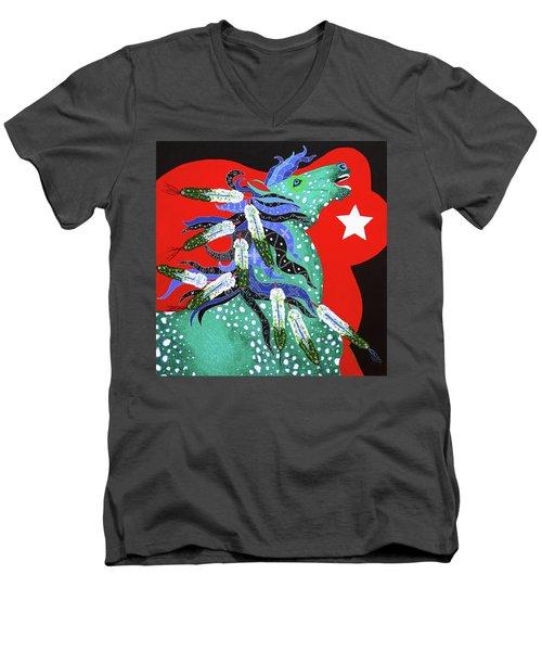Spirits Rise Men's V-Neck T-Shirt
