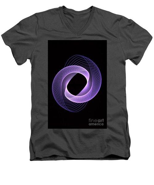 Spirograph Spiral 06 Men's V-Neck T-Shirt
