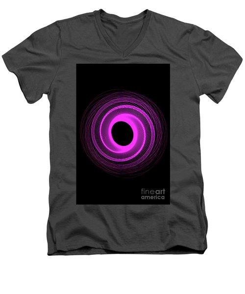 Spirograph Spiral 08 Men's V-Neck T-Shirt