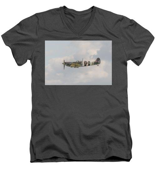 Spitfire Mk Vb Men's V-Neck T-Shirt