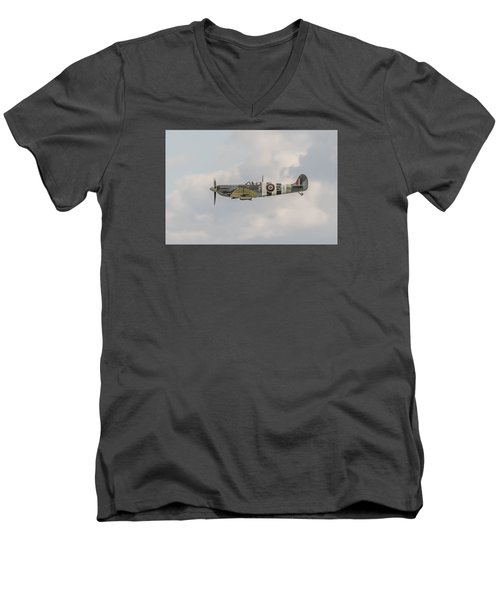 Spitfire Mk Vb Men's V-Neck T-Shirt
