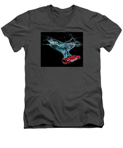 Splash Down Men's V-Neck T-Shirt