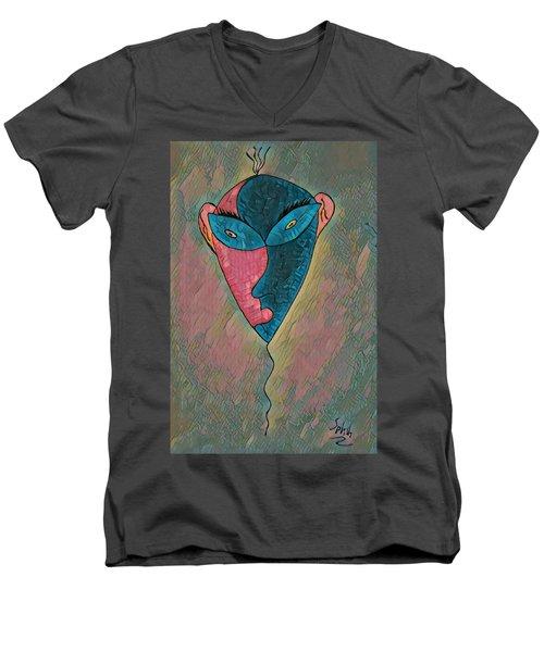Splash Men's V-Neck T-Shirt