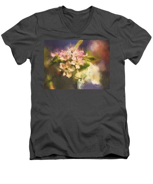 Splash Of Spring Men's V-Neck T-Shirt