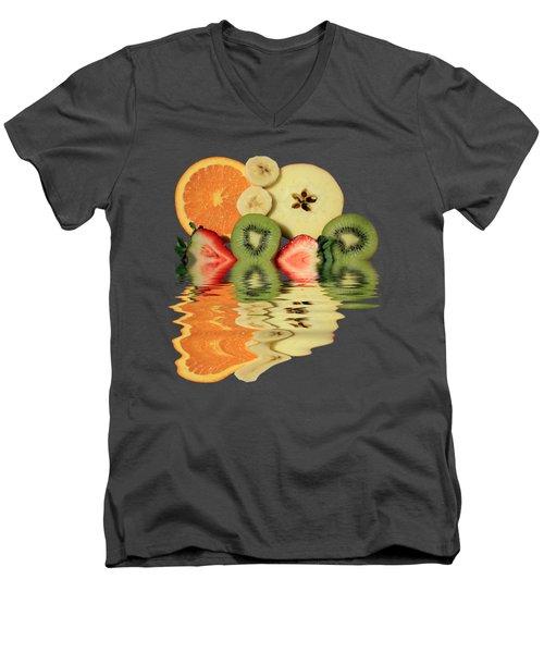 Split Reflections Men's V-Neck T-Shirt