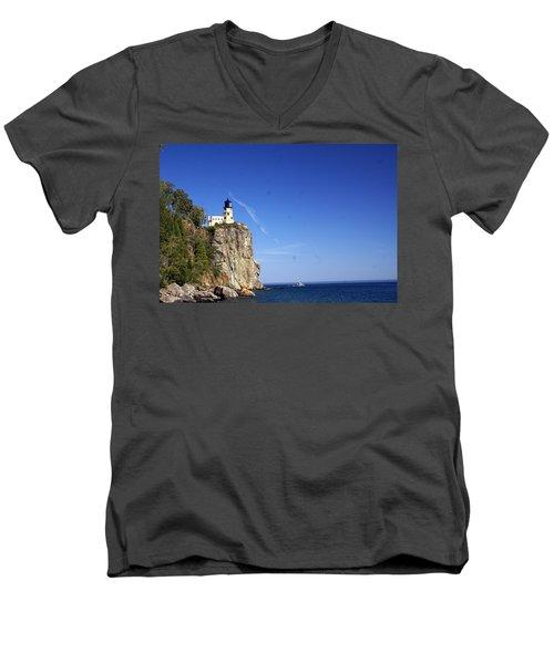 Split Rock 1 Men's V-Neck T-Shirt