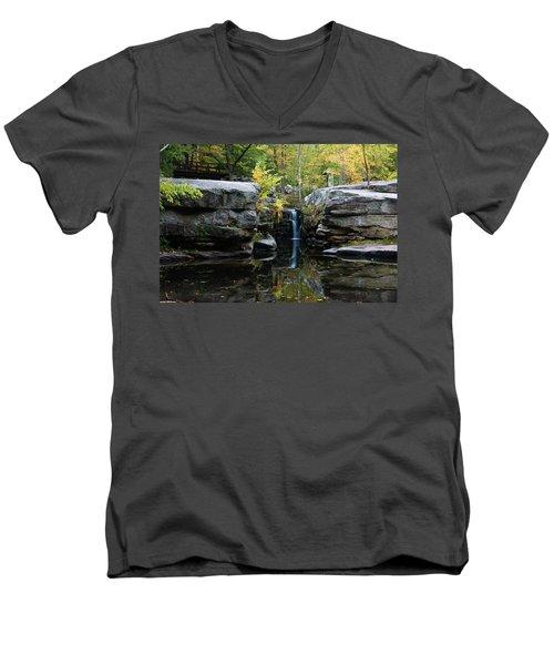 Split Rock In October #1 Men's V-Neck T-Shirt