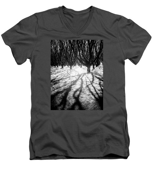 Spooky Forest Men's V-Neck T-Shirt