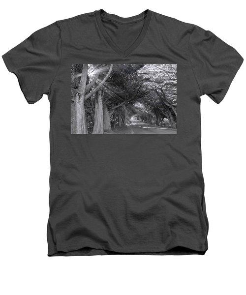 Spooky Men's V-Neck T-Shirt