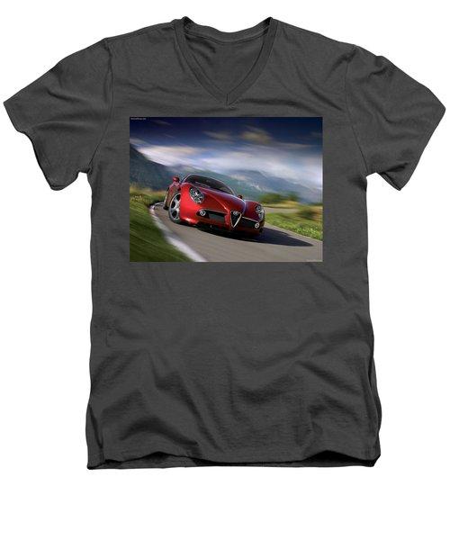 Sport Men's V-Neck T-Shirt