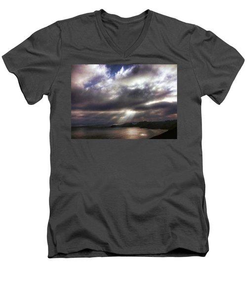 Spot O' Sun Men's V-Neck T-Shirt