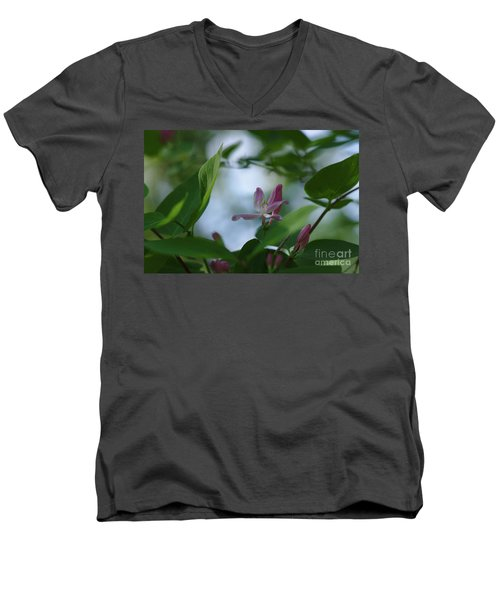 Men's V-Neck T-Shirt featuring the photograph Spring 2016 11 by Cendrine Marrouat