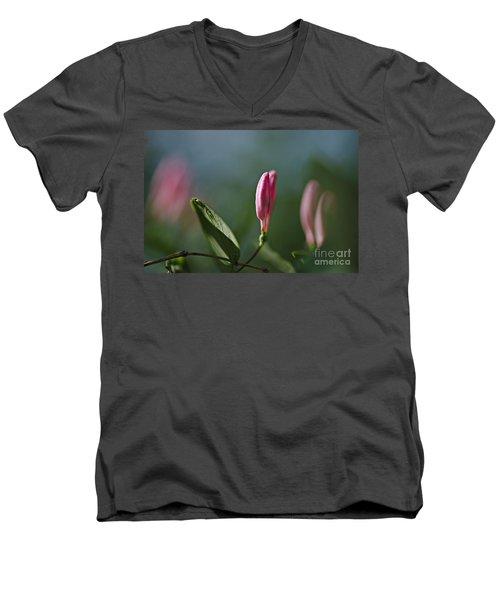 Spring 2016 12 Men's V-Neck T-Shirt by Cendrine Marrouat