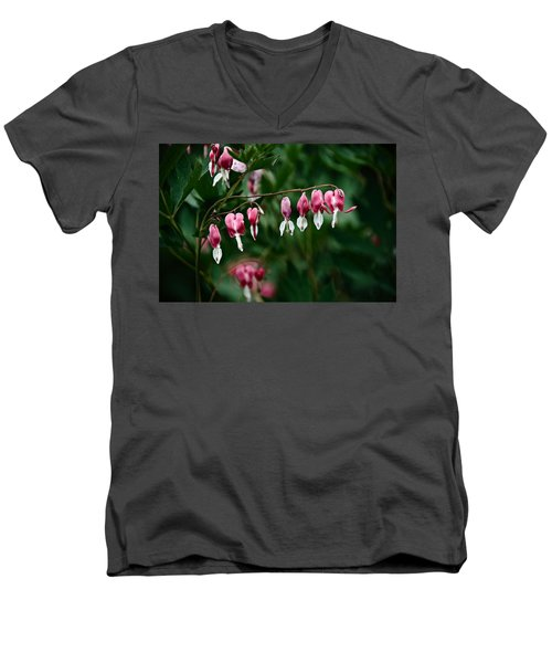 Men's V-Neck T-Shirt featuring the photograph Spring 2016 22 by Cendrine Marrouat