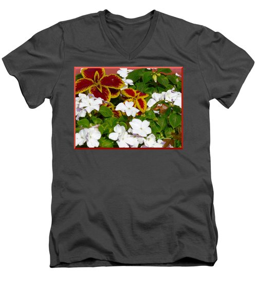 Spring Annuals Men's V-Neck T-Shirt