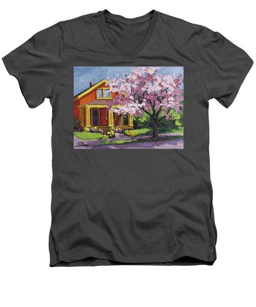Spring At Last Men's V-Neck T-Shirt