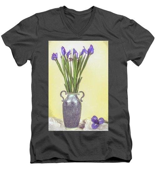 Spring Bouquet Men's V-Neck T-Shirt