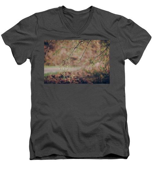 Spring Buds Men's V-Neck T-Shirt