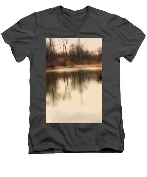 Spring Coming Men's V-Neck T-Shirt