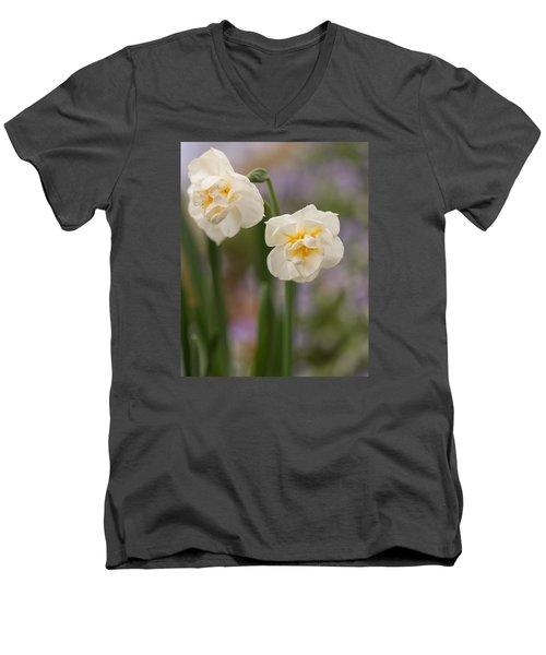 Spring Dance Men's V-Neck T-Shirt