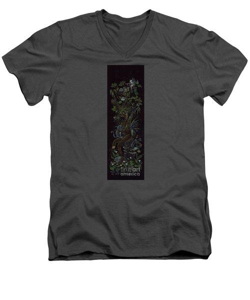 Spring Dryad Men's V-Neck T-Shirt