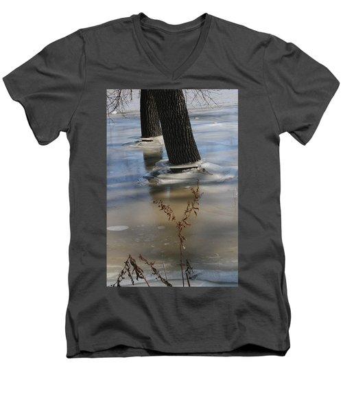 Spring Flood Men's V-Neck T-Shirt