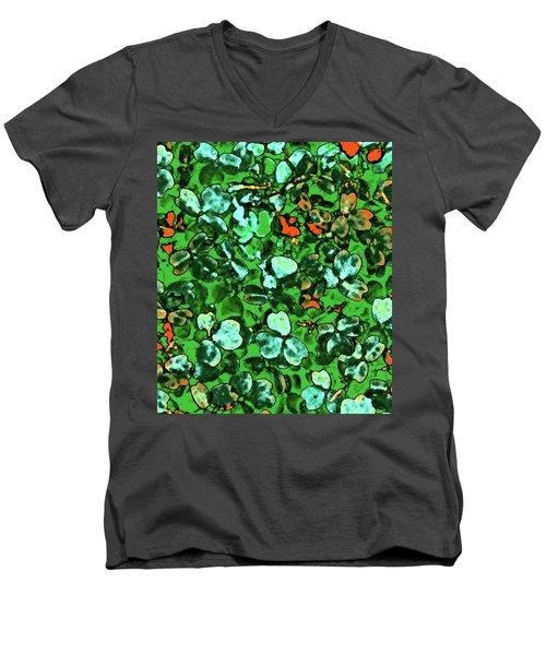 Spring Foiliage Men's V-Neck T-Shirt