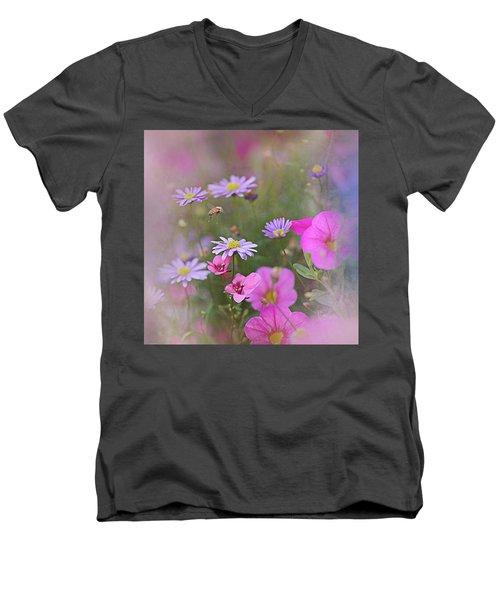 Spring Garden 2017 Men's V-Neck T-Shirt