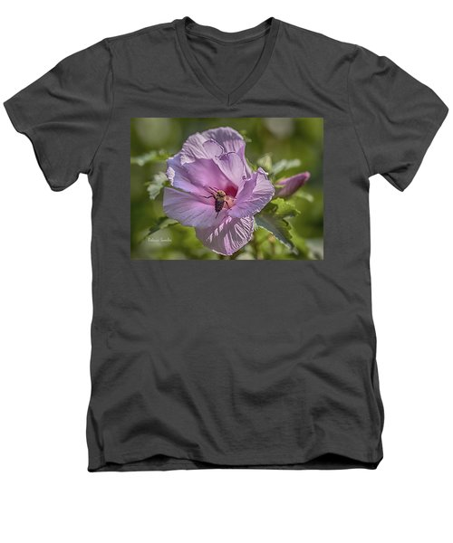 Spring Happy Dance Men's V-Neck T-Shirt