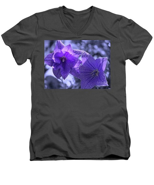 Men's V-Neck T-Shirt featuring the photograph Spring Hope by Cathy  Beharriell
