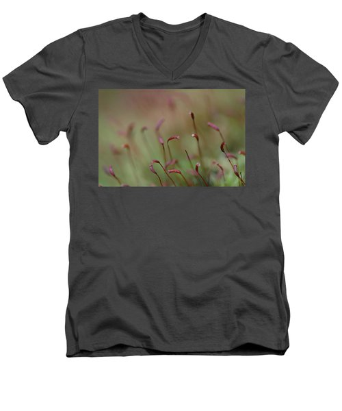 Men's V-Neck T-Shirt featuring the photograph Spring Macro5 by Jeff Burgess