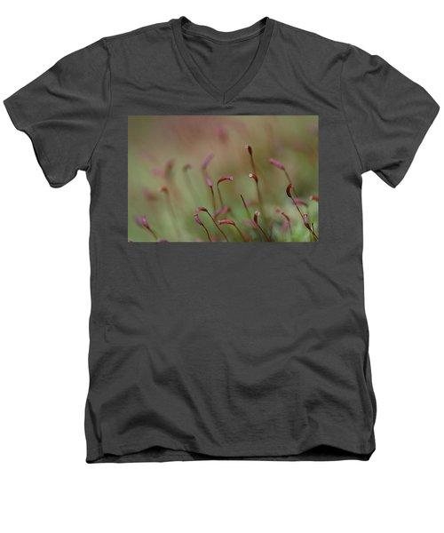 Spring Macro5 Men's V-Neck T-Shirt