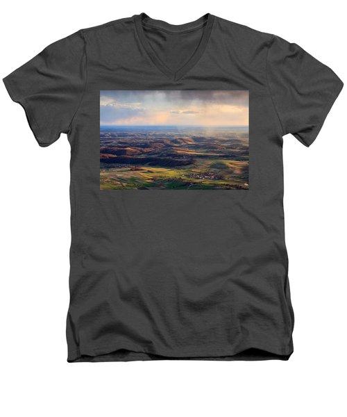 Spring Magic Men's V-Neck T-Shirt