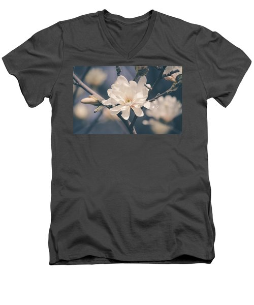 Spring Sonnet Men's V-Neck T-Shirt